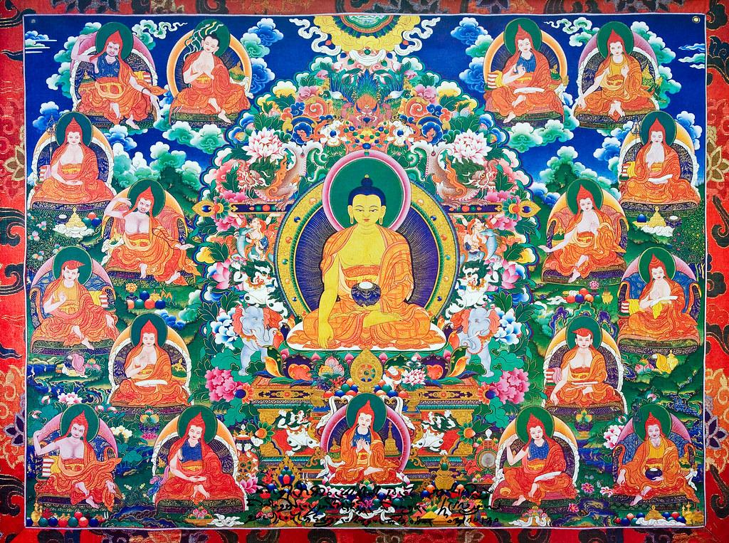 17 Masters of Nalanda
