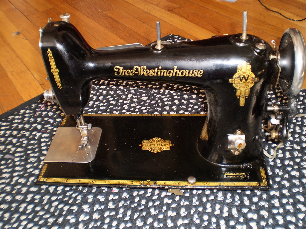 Free Westinghouse Electric Sewing Machine Electric