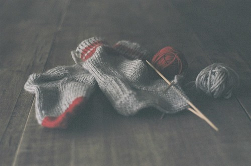 knitting socks :: film