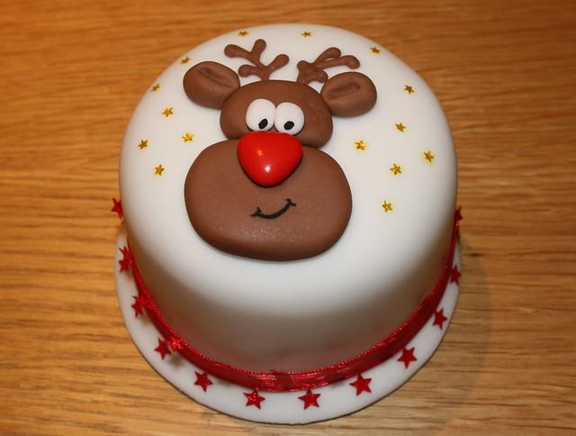 Mini Xmas Cake Designs :
