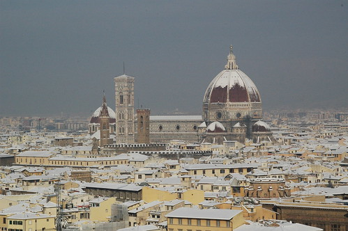 Snowy Florence - 17-12-2010