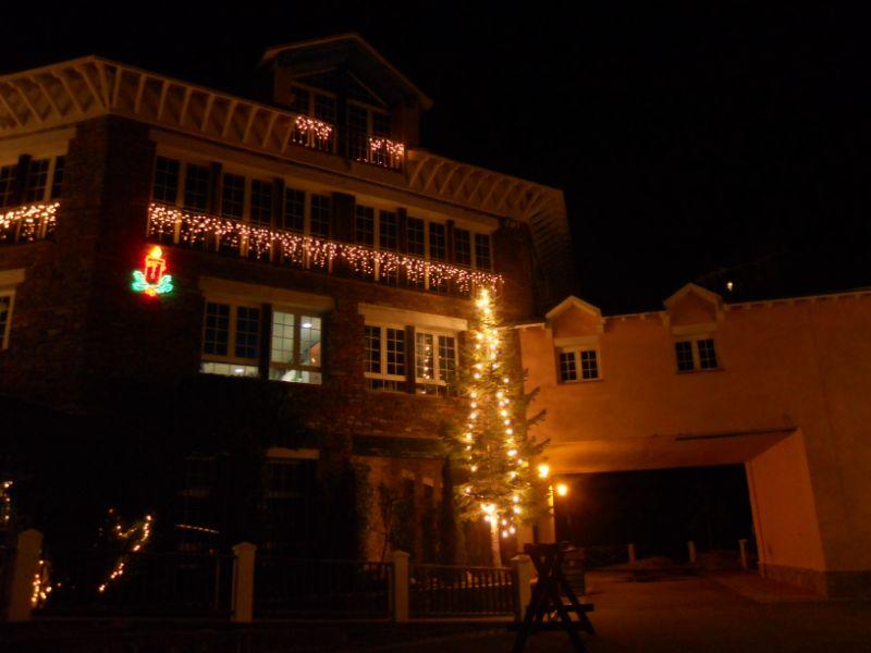 Fachada iluminación navideña