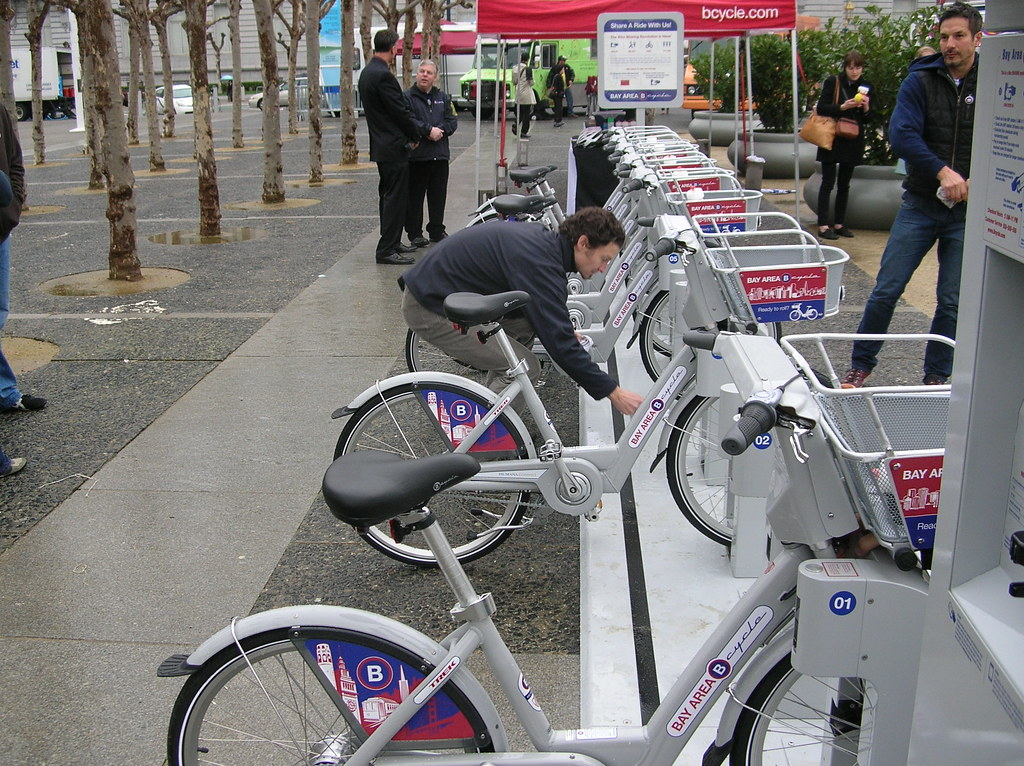 Bikes San Francisco Bike Share Coming to SF and