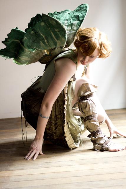 Clockwork wood nymph costume | Flickr - Photo Sharing!