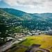 Small photo of Flying over Charlotte Amalie