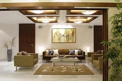 Living Room Pictures Lighting by Mahesh Punjabi Associates: Interior Designer, Architect