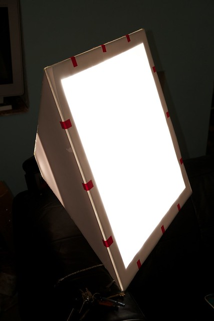 DIY Foamcore Softbox   Flickr - Photo Sharing!