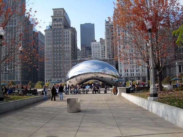 Millennium Park - Chicago by flickr user boscdanjou