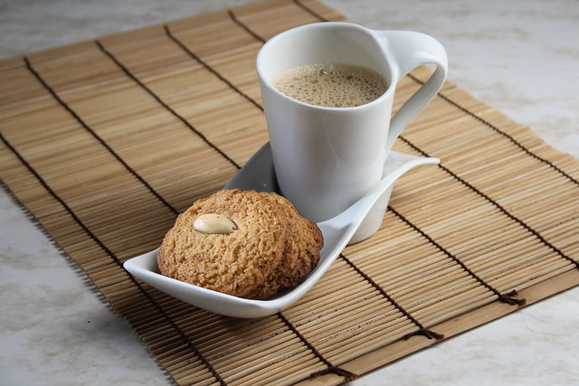 Hot Coffee with Biscuits | Flickr - Photo Sharing!