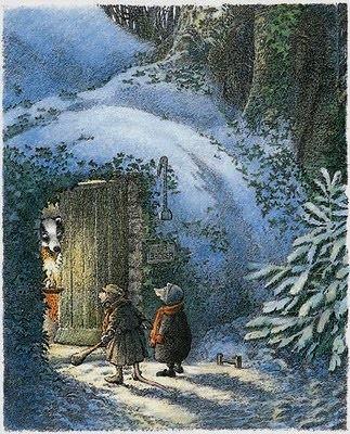 """Znalezione obrazy dla zapytania """"Wind in the Willows"""" by Inga Moore"""