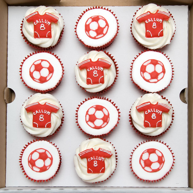 LFC cupcakes for The Anfield Wrap first podcast! | Lfc