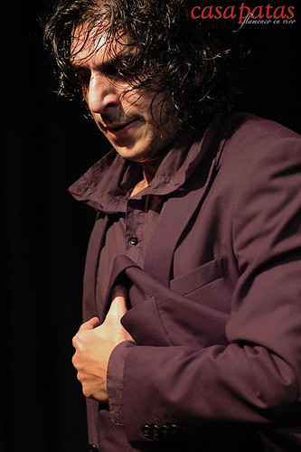 El bailaor Kelian Jiménez. Foto: Martín Guerrero