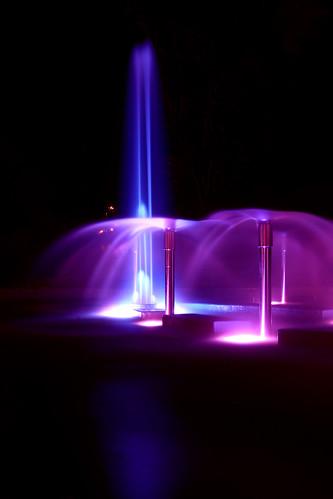 longexposure pink blue christchurch colour water fountain soft explored