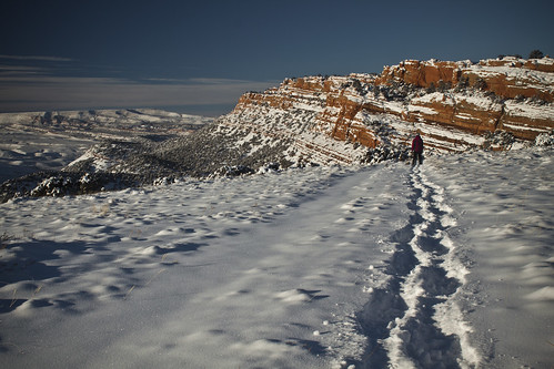 Red Canyon Snowshoe