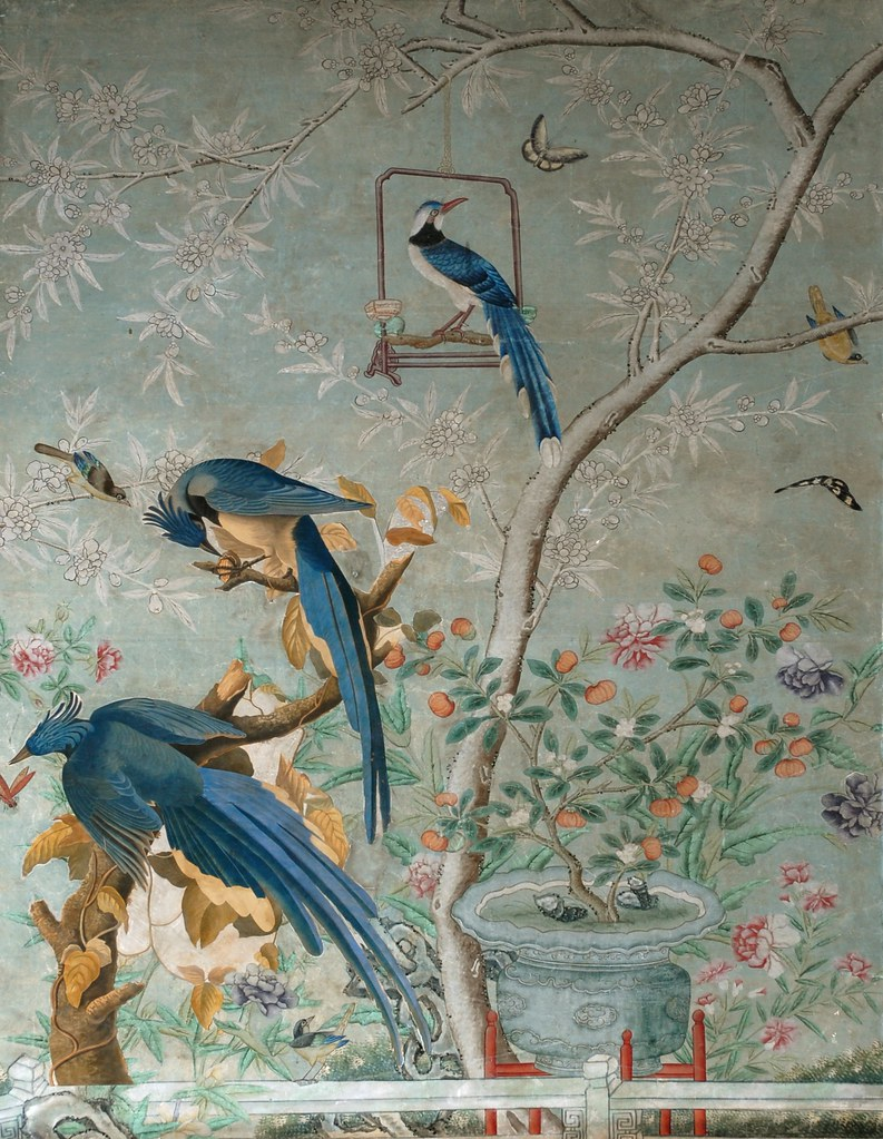 Chinese Room Handpainted Wallpaper Columbia Jayes | Flickr ...