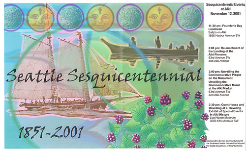Sesquicentennial events, 2001