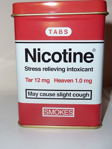 HOW SMOKING AND NICOTINE DEPENDENCE IS CREATED