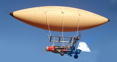 aircraft, aviation, airship, vehicle, flight,