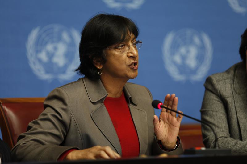 Navi Pillay, High Commissioner for Human Rights - Photo: United Nations - Geneva