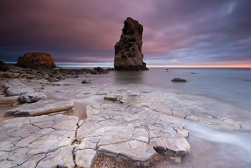 longexposure sea seascape sunrise dawn coast stack northumbria northsea coastline gitzo marsden whitburn tyneandwear marsdenrock northeastengland sigma1020 leefilters koodfilters steveboote canoneos550d