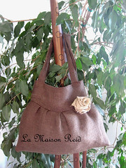 Burlap Purse Tutorial