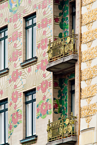 Majolica House Vienna Austria