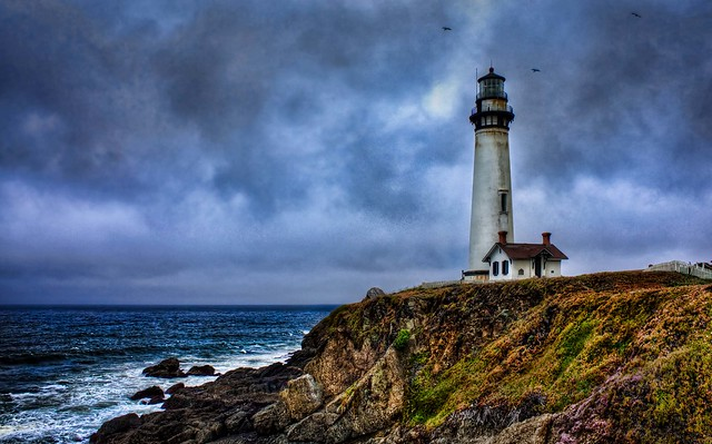 Pigeon Point Lighthouse HDR