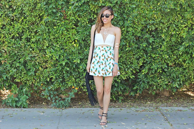 lucky magazine contributor,fashion blogger,lovefashionlivelife,joann doan,style blogger,stylist,what i wore,my style,fashion diaries,outfit,coachella,coachella style,coachella fashion,brooklyn harper,shop the trends,festival style,pineapple skirt