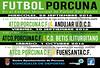 CARTEL FUTBOL ESCUELAS DEPORTIVA PORCUNA 28,30 Y 1 SEPTIEMBRE Y OCTUBRE 2016