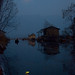 0144  By the light of the moon--Dal Lake , Kashmir