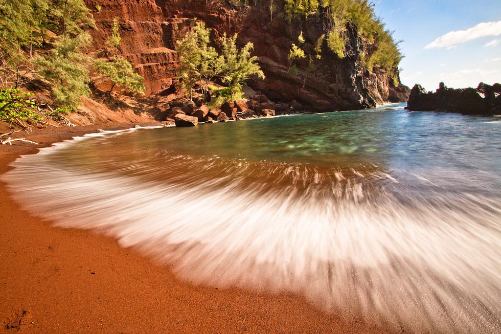 Red Sand гавайи