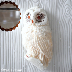 petal paste owl instructions
