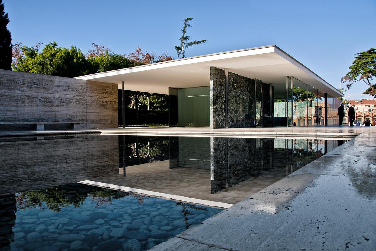 barcelona pavilion   mies van der rohe flickr   photo