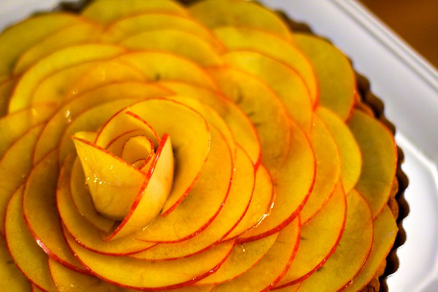 Salted Caramel Apple Rosette Tart (9) | Inspired by Cherry ...