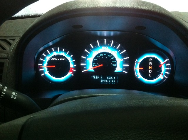 Ford       Fusion       speedometer      My car is in the shop and I ve