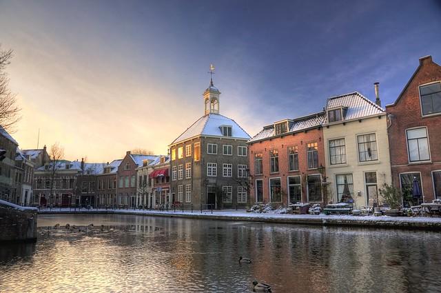 Zakkendragershuisje, Schiedam (HDR)