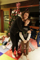 first kid up on xmas morning   nick, and it's not li…
