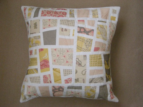 Dotty Logic: Beachcomber cushion cover