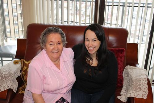 Visiting Grandma Daisy 2010