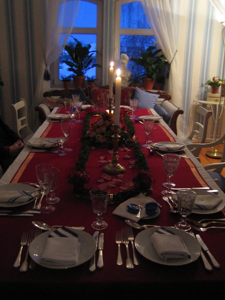 liebenswert Weihnachtstafel Festlich Part - 8: Festlich geschmückte Weihnachtstafel