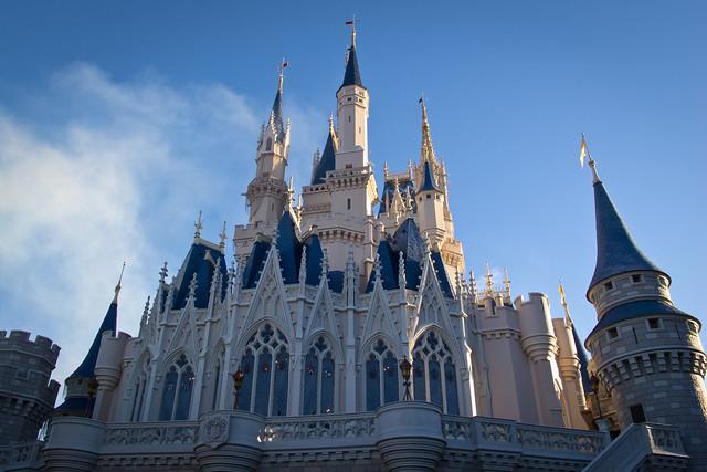 Cinderella Castle - Flickr CC harshlight