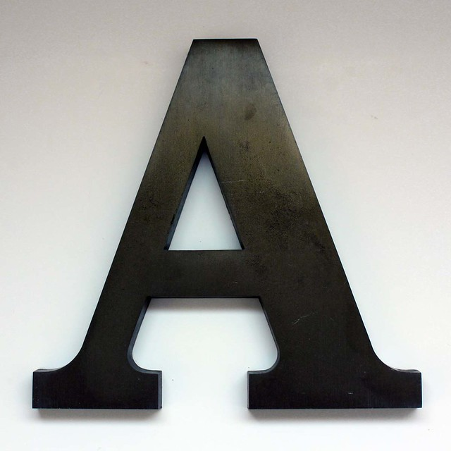 Letter A Large 2 Flickr Photo Sharing