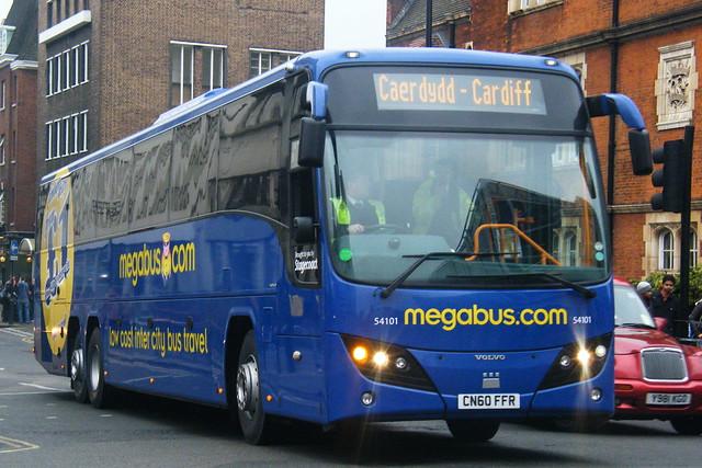 MegaBus, (Stagecoach Cymru) 54101, CN60FFR