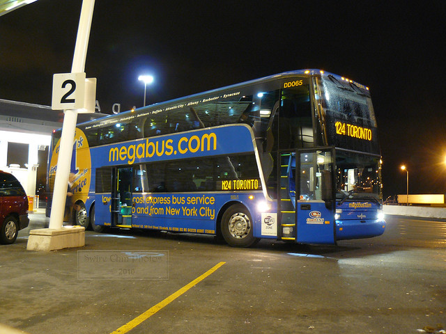 Toronto-bound Megabus Double Deck Coach | Flickr - Photo ...