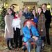 Family portrait at Hotel Hershey by larkspurlazuli