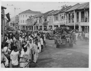 Royal Marines Parade in Penang