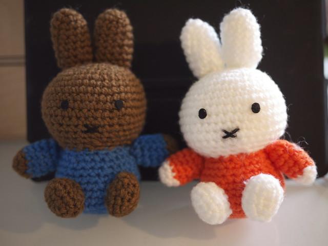 Miffy Amigurumi Crochet Pattern Free : Miffy and Melanie Flickr - Photo Sharing!
