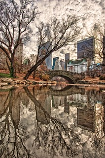 Reflections in Central Park HDR