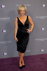 Actress Rachael Harris at The Cosmopolitan Grand Opening and New Year's Eve Celebration