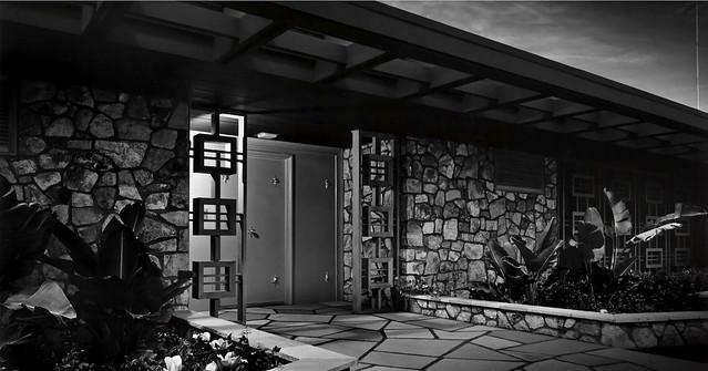 1954 ... Ball, Arnaz House -Palm Springs CA